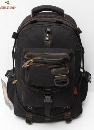 Мощный универсальный рюкзак gold be (оригинал), модель среднег...