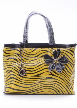 Кожаная сумка velina fabbiano 2018 (оригинал 100%). натуральна...