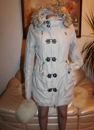 Пальто парка длинная куртка
