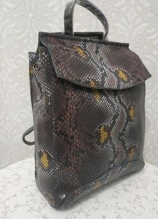 Кожаный рюкзак сумка, рюкзаки из натуральной кожи лазерной обр...