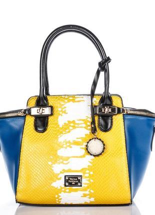 Роскошная женская сумка модель 2019 velina fabbiano оригинал, ...