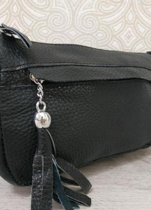 Кожаная женская шкіряна сумочка 2019, кросс-боди cross body из...
