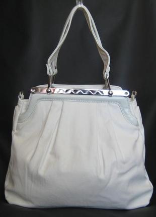 Женская белая сумка, уценка