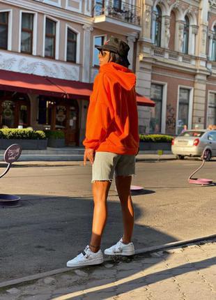 Худи, батник оранжевый