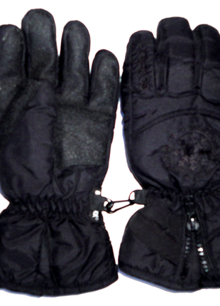Перчатки непромокаемые термоперчатки на флисе 8-10 лет