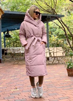 Куртка пальто пудра