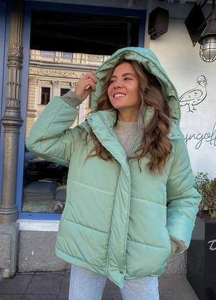 Куртка оливка