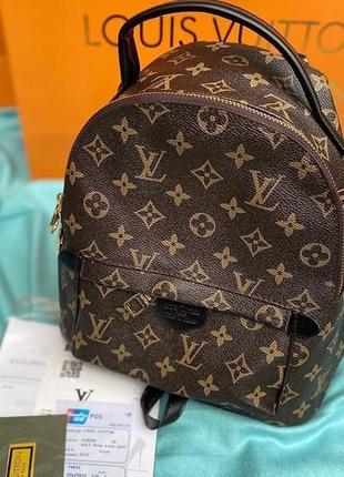 Рюкзак кожаный бредовый коричневый