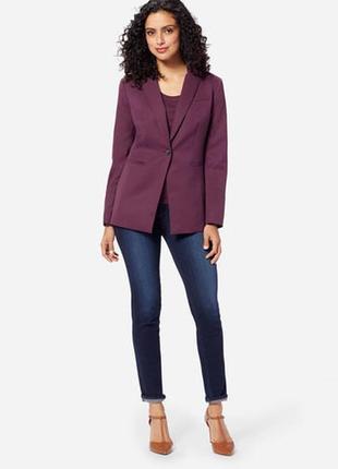 Alba moda брендовый#шерстяной#бордовый#марсала жакет#пиджак#бл...