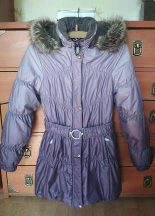 Зимнее пальто lenne,ленне 146-152 в идеале