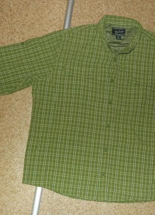 Трекинговая рубашка woolrich outdoor