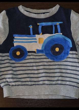 Реглан, кофта на мальчика 1-2 года