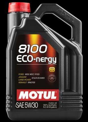 Моторное масло MOTUL 8100 ECO-NERGY SAE 5W30 (4L)