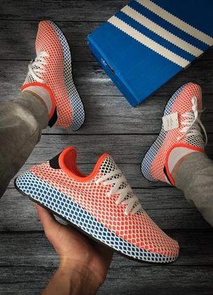 Шикарные кроссовки adidas deerupt (весна/ лето/ осень)