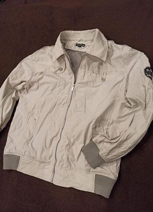Плащевая легкая куртка, ветровка santino