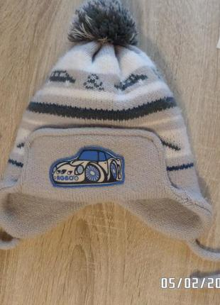 Зимова шапка на 46-50 см ог