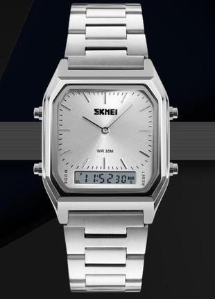 Часы наручные мужские Skmei rct silver m188