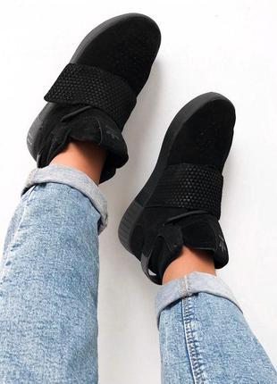 Шикарные женские кроссовки adidas tubular (весна/ лето/ осень)