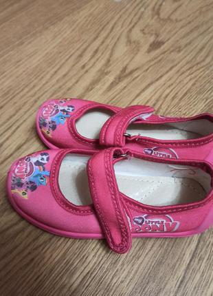 Тапочки для девочек с пони