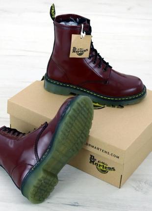 Женские ботинки dr мartens (осень)