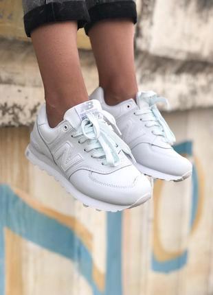 Кроссовки женские  new balance white
