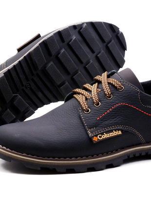 Мужские кожаные кроссовки Columbia flotar