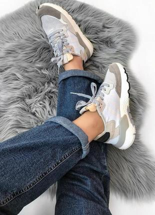 Кроссовки женские adidas nite jogger (весна/лето/осень)