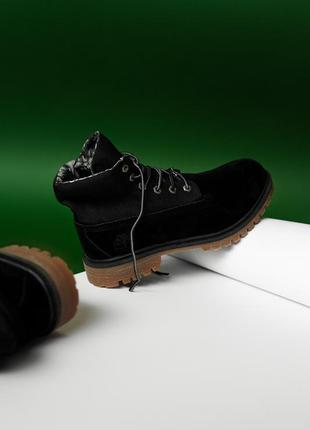Ботинки timberland military black