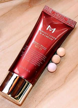 Тональна основа Missha M Perfect Cover BB Cream 20 ml
