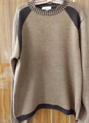 Шерстяной свитер   м