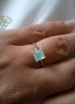 "Cеребряное кольцо ""pacific opal"""
