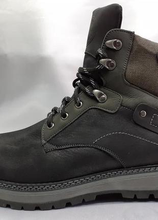 Зимние комфортные ботинки-берцы madoks