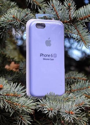 Силиконовый чехол Silicone case для iPhone 6/6+