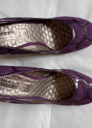 Туфли женские из натуральной кожи QUEEN