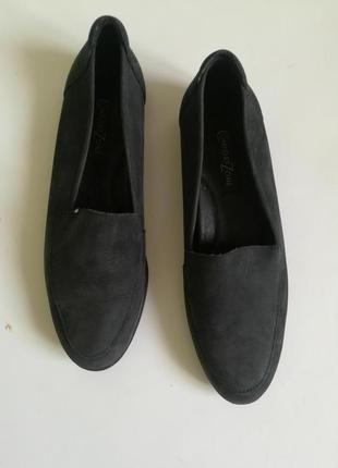 Кожаные удобные туфли comfort zone