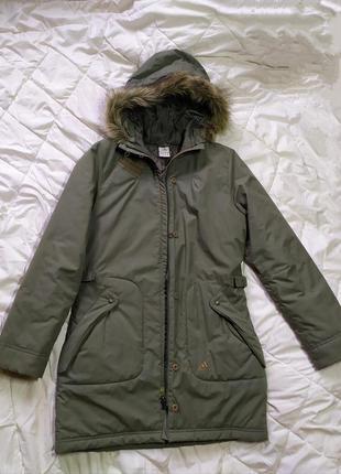 Женская парка adidas куртка пальто оригинал