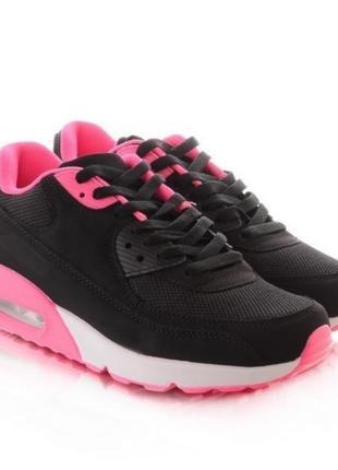 Женские кроссовки с розовой подкладкой