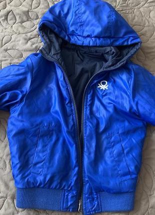 Куртка двухсторонняя осень/весна  benetton