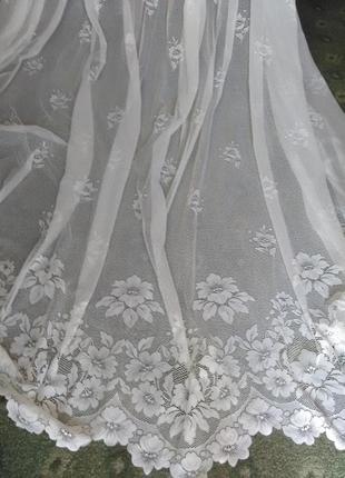 Шикарная готовая тюль на окно