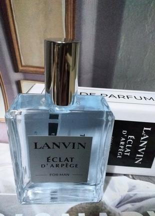 Lanvin Eclat D'Arpege Man 100 мл, Духи мужские, Тестер, Парфюмы