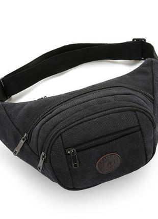 Поясная сумка через плечо для мужчин.бананка, сумка на пояс,...