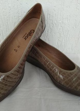 Туфли кожанние gabor comfort р.37