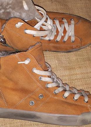 41р-28 см замша на овчине ботинки leather grown hand made made...