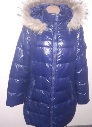 Большой размер куртка на синтепоне зима