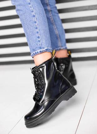 Женские   ботинки  без меха