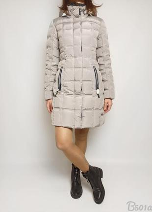 Пухове пальто snowimage зима, натуральный женский пуховик
