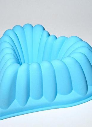 Силиконовая форма для выпечки  26х26,5х8,5 см сердце empire m-...