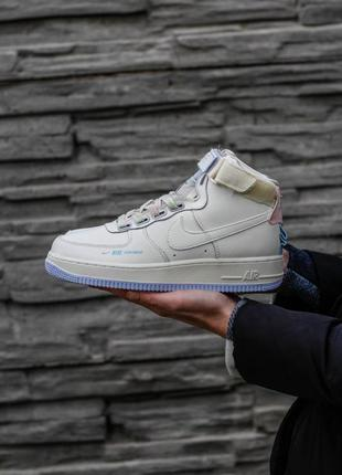 Кроссовки nike air force 1 utility cream high