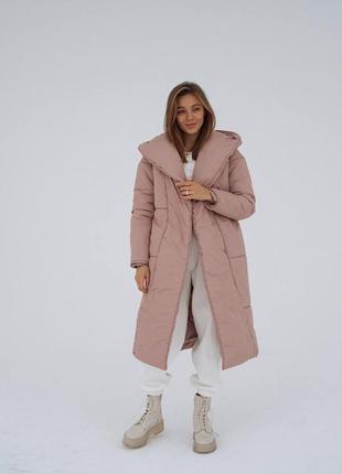 Куртка одеяло. куртка-пальто оверсайз.