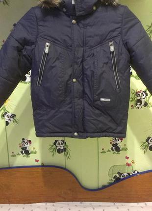 Зимняя куртка lenne 122р